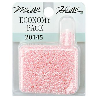 Mill Hill Glass Seed Beads Economy Pack 9.08 Grams Pkg Pink Gbec 20145