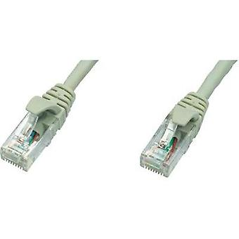 RJ49 Networks Cable CAT 5e U/UTP 25 m Grey Flame-retardant Telegärtner