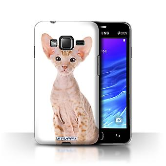 STUFF4 Case/Cover for Samsung Z1/Z130/Peterbald/Cat Breeds