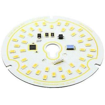 HighPower LED module Warm white 17 W 1300 lm 120 ° 120 Vac Seoul Semiconductor