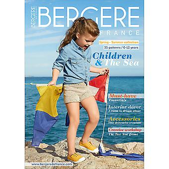 Bergere De France Magazine (Explanations Incl.) 185-Kids Summer BF67531