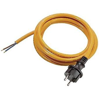 Current Cable [ PG plug - Cable, open-ended] Orange 5 m as - Schwabe 70913