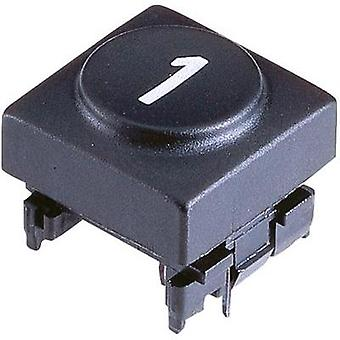 Marquardt 826.010.011 Sensor Cap Button cap 0 Anthracite Compatible with Series 6425 without LED
