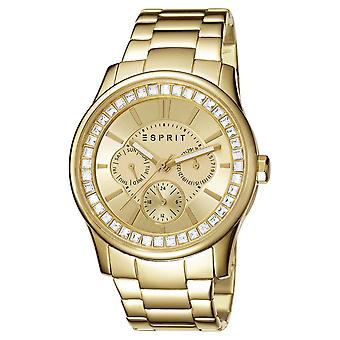 ESPRIT ladies watch bracelet watch StarLite stainless steel gold ES105442008
