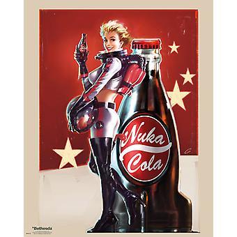 Fallout 4 Nuka Cola Mini affisch