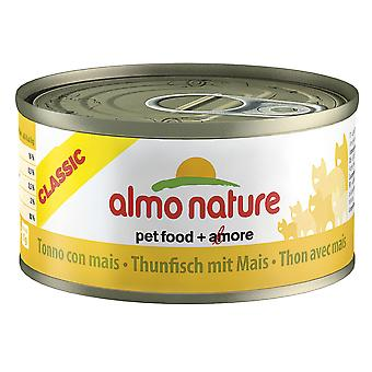 Almo Nature Hfc Natural Cat Adult Tuna & Sweetcorn 70g (Pack of 24)