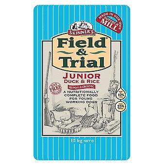 & Feltundersøgelse Junior Duck og ris 15kg