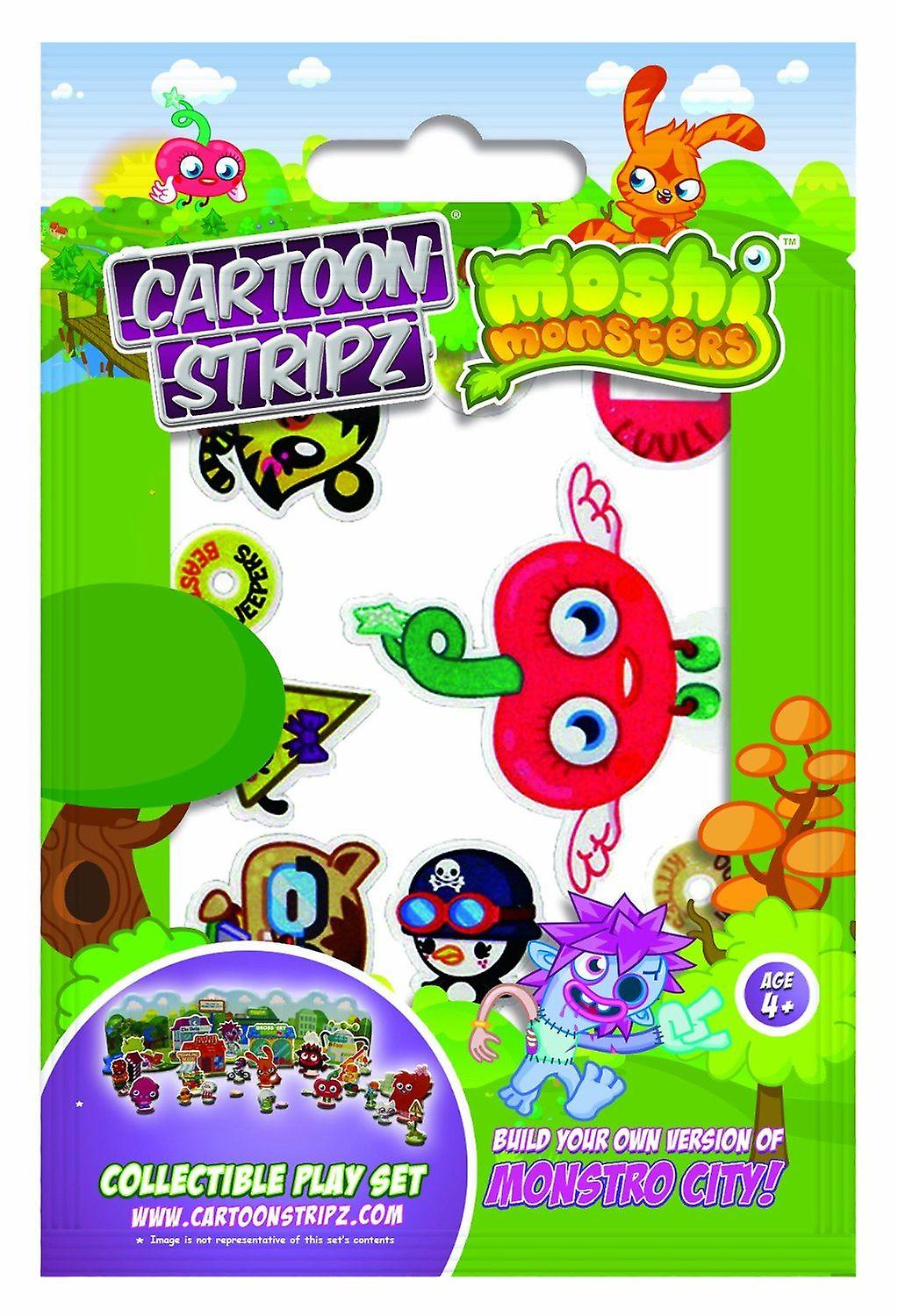 CARTOON STRIPZ | MOSHI MONSTERS | Small Cartoon Strips | Ideal Party Bag Item