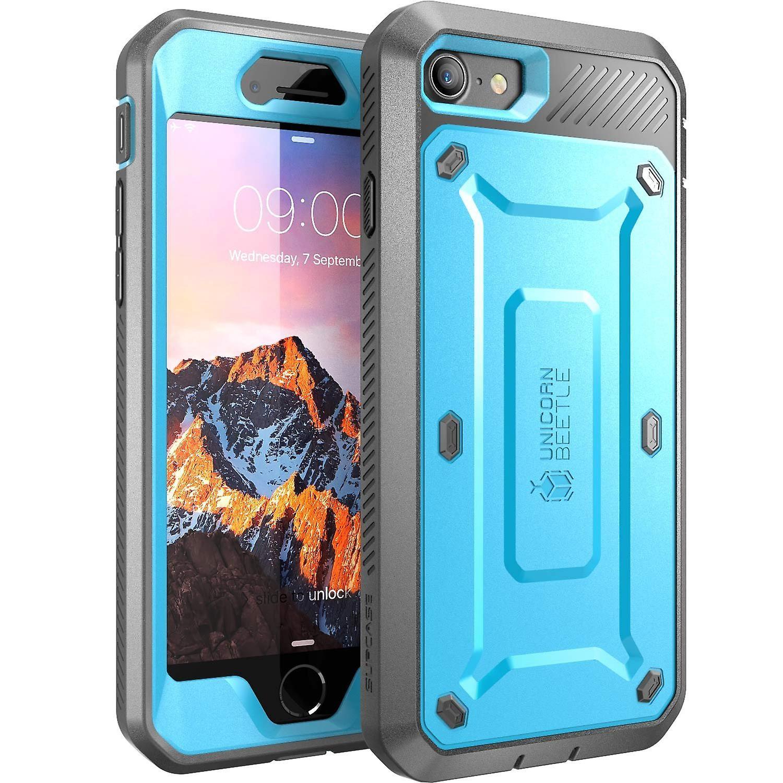 SUPCASE-Apple iPhone 7,Unicorn Beetle PRO Series Case-Blue/Black