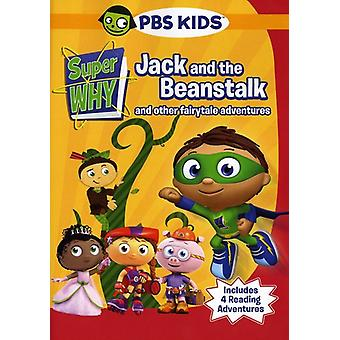 Super Why-Jack & the Beanstalk & Other Story Book [DVD] USA import
