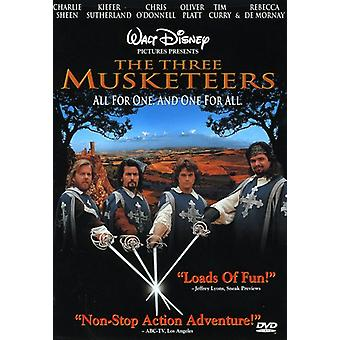 The Three Musketeers [DVD] USA import