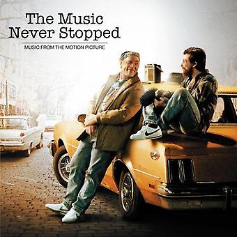 Music aldrig stoppet: Musik Motion Picture - Music aldrig stoppet: musik Motion Picture [CD] USA import