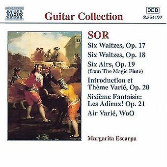 F. Sor - DORS: Musique pour guitare, opus 17-21 [CD] USA import