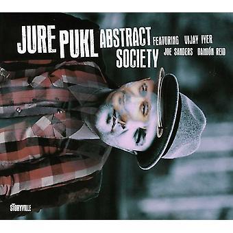 Jure Pukl - abstrakt samfund [CD] USA import