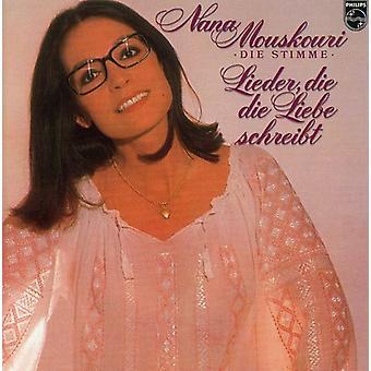 Nana Mouskouri - Lieder Die Die Liebe Schreibt [CD] USA import