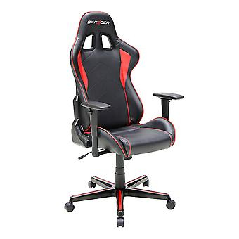 DX Racer DXRacer OH/FH08/NR High-Back Ergonomic Computer Chair PU(Black/Red)