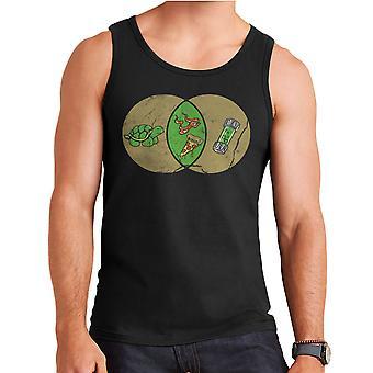 Mikey Michelangelo Teenage Mutant Ninja Turtles Herren Weste