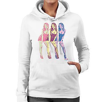 Pop Art Threes A Crowd VIP Women's Hooded Sweatshirt