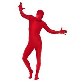 Män kostymer andra hud kostuum rood