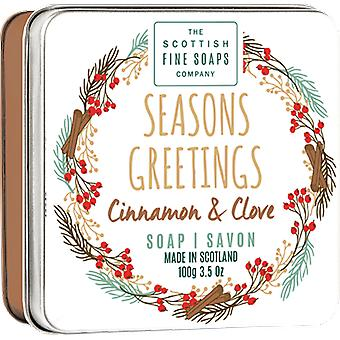 Scottish Fine Soaps Seasons Greetings sapone Tin