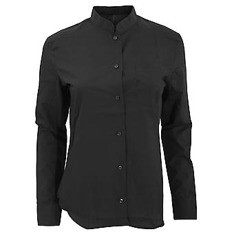 Kariban Womens/Ladies Long Sleeve Mandarin Collar Shirt