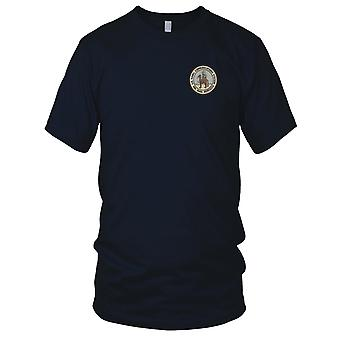 US Navy Naval Communications Station Sidi Yahia, Morocco Embroidered Patch - Mens T Shirt