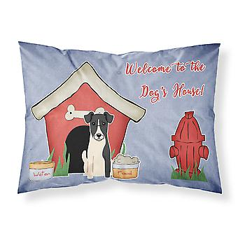 Dog House Collection Smooth Fox Terrier Fabric Standard Pillowcase