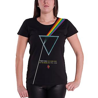Pink Floyd T Shirt Dark Side of the moon prism womens Official Skinny Fit