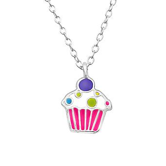 Cupcake - 925 Sterling Silver Necklaces