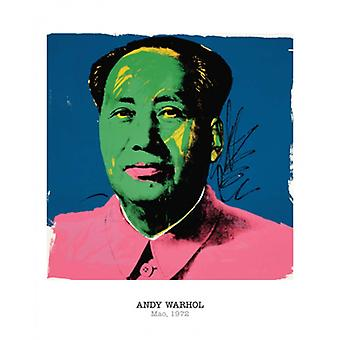Mao 1972 Poster Print by Andy Warhol (16 x 20)