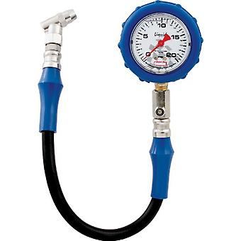 QuickCar Racing Products 56-021 Tire Pressure Gauge with Swivel Chuck and Relief Valve
