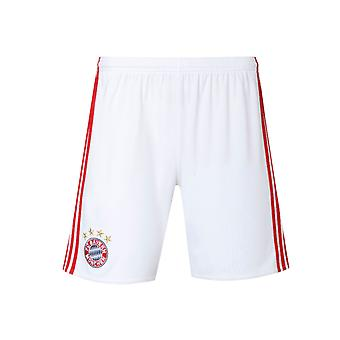 2016-2017 Bayern Munich Adidas Home Shorts (White) - Kids