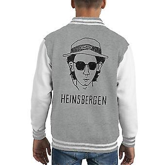 Dudley Heinsbergen Royal Tenenbaums Breaking Bad Kid's Varsity Jacket