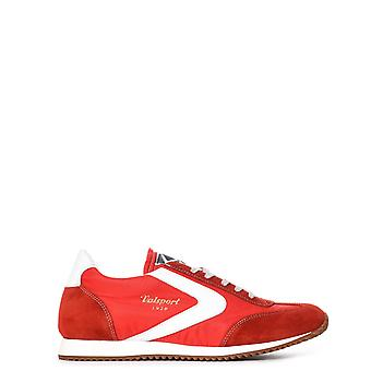 Valsport men SOFT405ROSSO red leather of sneakers