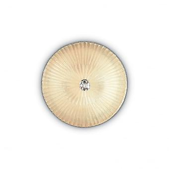 Ideal Lux Shell Pl3 Ambra