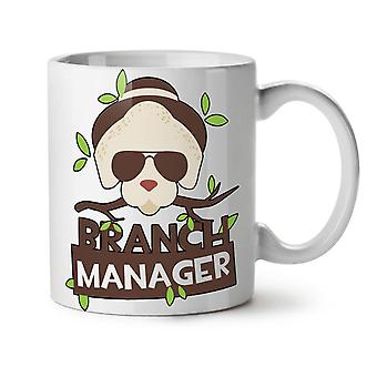 Branch Manager Joke NEW White Tea Coffee Ceramic Mug 11 oz | Wellcoda