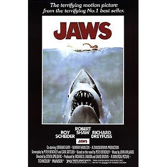 Jaws Movie Poster Print (24 x 36)