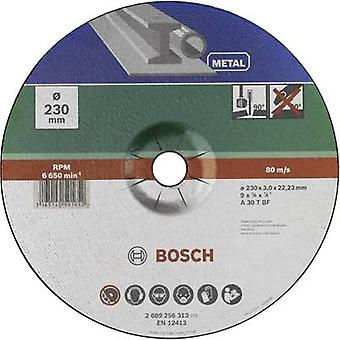 Cutting disc with depressed centre, metal Bosch Accessories 2609256313 Diameter 230