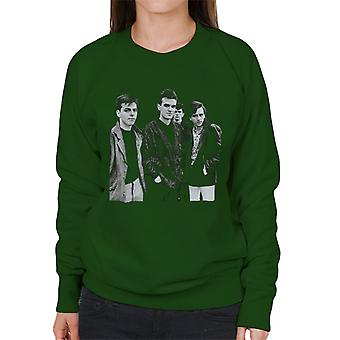 The Smiths Closeup From Salford Lads Club 1985 Women's Sweatshirt