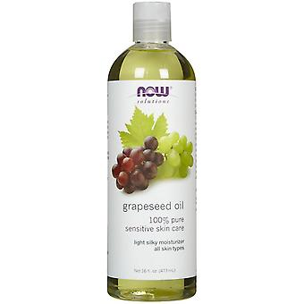 Now Foods Grapeseed Oil 473 ml (Cosmetics , Body  , Body oils)