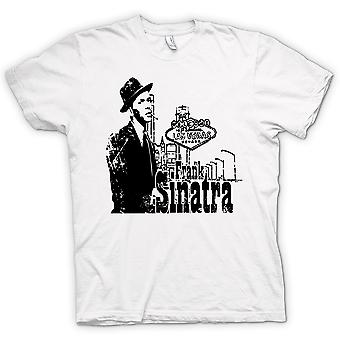 Womens T-shirt - Frank Sinatra Vegas - Swing - Icon