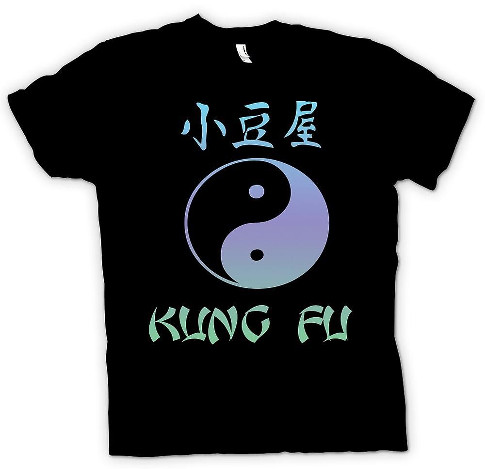 Kids T-shirt - Kung Fu - Ying Yang