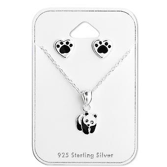 Panda - 925 Sterling Silver Sets - W28983x