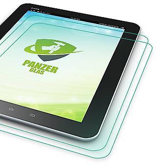 2x Premium 0,4 mm Hartglas Schock Folie für Samsung Galaxy Tab A 10.1 T580 T585