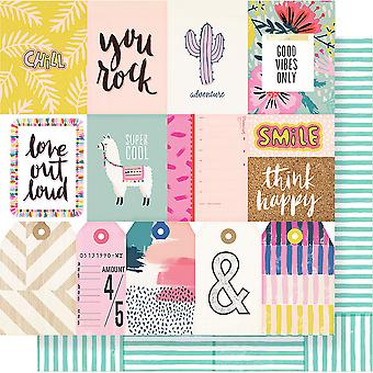 Good Vibes Double-Sided Cardstock 12