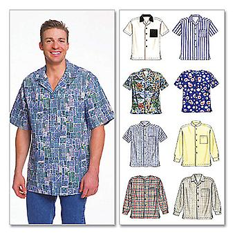Men's Shirts-MED -*SEWING PATTERN*