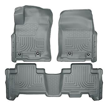 Husky Liners Front & 2nd Seat Floor Liners Fits 14-18 GX460, 13-18 4Runner
