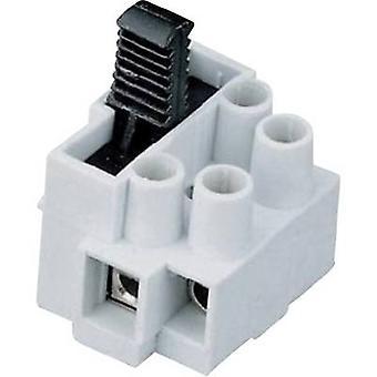 Screw terminal flexible: 0.5-2.5 mm² rigid: 0.5-2.5 mm² Number of pins: 2