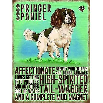 Springer Spaniel Køleskabsmagnet