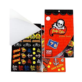 Pirates Only Sticker Book for Crafts & Party Bags | Skull & Crossbones Crafts